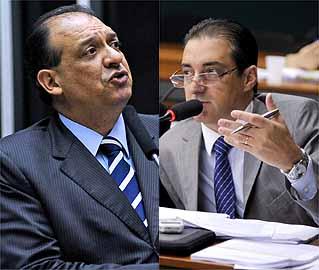 Beto Oliveira e Brizza Cavalcante/Ag.Câmara