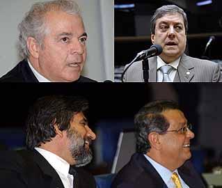 Montagem sobre fotos de Brizza Cavalcante e Diógenis Santos/Ag.Câmara e Fábio Pozzebom/ABr