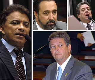 Laycer Tomaz, J.Batista, Luiz Alves, Diógenis Santos/Ag.Câmara