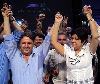 Anthony Garotinho é condenado por formação de quadrilha. Sua mulher, Rosinha, já havia sido afastada pela Justiça da prefeitura de Campos
