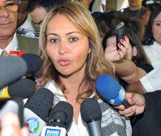 Jaqueline Roriz está entre os 54 parlamentares que passaram a ser julgados pelo STF em novos procedimentos abertos este ano