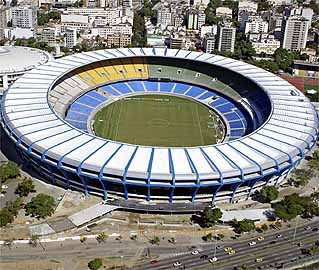 Estádio do Maracanã, que será reformado para Copa do Mundo de 2014