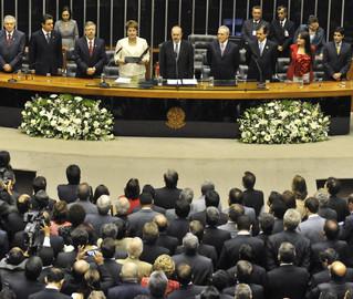 Dilma toma posse no Congresso: para analista político, nova presidenta terá relação tranquila com Legislativo