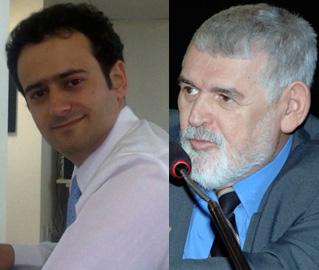 Edson Sardinha (E) foi o autor da série de reportagens sobre o deputado Luiz Couto