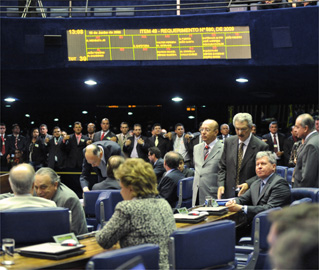 PT e PMDB fizeram quase metade das cadeiras que estavam em disputa no Senado